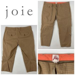 Joie Tan Crop Pants